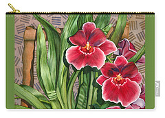 Miltonia Orchids Carry-all Pouch