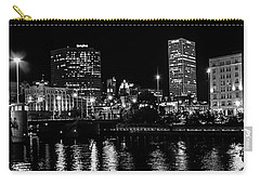 Milwaukee Downtown Third Ward Carry-all Pouch by Susan  McMenamin