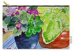 Mimi's Violets Carry-all Pouch