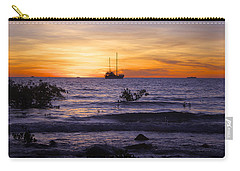 Mindil Beach Sunset Carry-all Pouch by Venetia Featherstone-Witty
