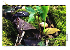 Carry-all Pouch featuring the photograph Miniature Garden by Jim Thompson
