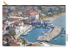 Carry-all Pouch featuring the photograph Miniature Port by Vicki Spindler