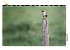 Minimalism Mockingbird Carry-all Pouch by Bill Wakeley