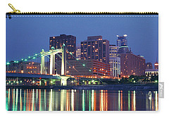 Minneapolis Skyline At Night Carry-all Pouch
