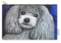 Carry-all Pouch featuring the painting Minnie by Karen Zuk Rosenblatt