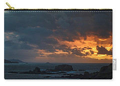 Carry-all Pouch featuring the photograph Mirandas Islands Galicia Spain by Pablo Avanzini
