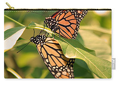 Carry-all Pouch featuring the photograph Mirror Image by Karen Silvestri