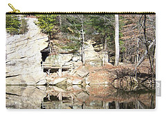 Sugar Creek Mirror Carry-all Pouch by Pamela Clements