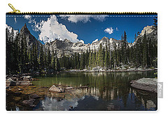 Carry-all Pouch featuring the photograph Mirror Lake by Steven Reed