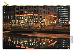 Carry-all Pouch featuring the photograph Mirror Reflection by Deborah Klubertanz