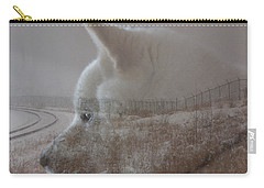 Carry-all Pouch featuring the digital art Missing You  by Stuart Turnbull