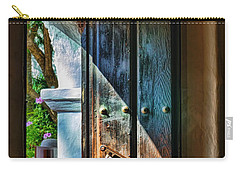 Mission Door Carry-all Pouch by Joan Carroll