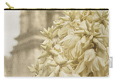 Mission San Jose And Blooming Yucca Carry-all Pouch