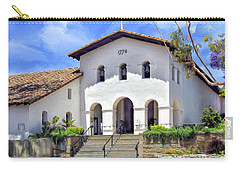 Mission San Luis Obispo De Tolosa Carry-all Pouch by Dominic Piperata