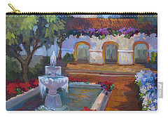 Mission Via Dolorosa Carry-all Pouch by Diane McClary