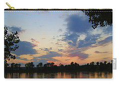 Missouri River Glow Carry-all Pouch by Cricket Hackmann