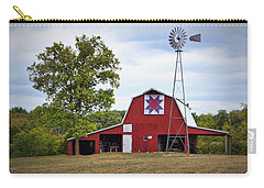 Missouri Star Quilt Barn Carry-all Pouch by Cricket Hackmann