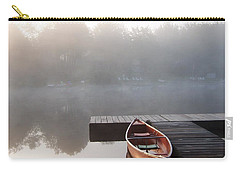 Mist Floating Over The Lake Carry-all Pouch