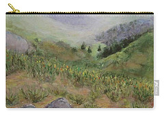 Mist In The Glen Carry-all Pouch by Laurie Morgan