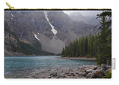 Mist Over Lake Moraine Carry-all Pouch