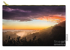 Mist Rising At Dusk Carry-all Pouch