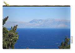 Carry-all Pouch featuring the photograph Mistral Wind by George Katechis