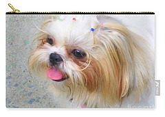 Carry-all Pouch featuring the photograph Misty by Dora Sofia Caputo Photographic Art and Design
