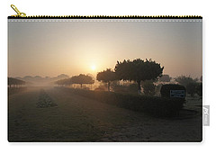 Misty Garden In The Morning Light Carry-all Pouch