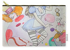Misty Kay In Wonderland Carry-all Pouch by Jimmy Adams