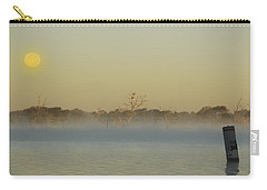 Misty Lake Carry-all Pouch by Charles Beeler