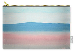 Misty Lake Original Painting Carry-all Pouch