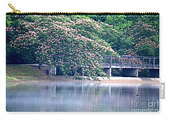 Misty Mimosa Reflections Carry-all Pouch