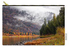 Misty Montana Morning Carry-all Pouch