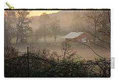 Misty Morn And Horse Carry-all Pouch