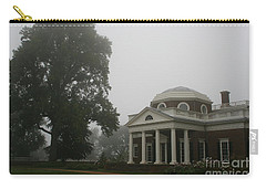 Misty Morning At Monticello Carry-all Pouch