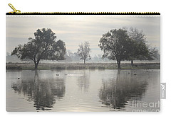 Misty Morning In Bushy Park London 2 Carry-all Pouch