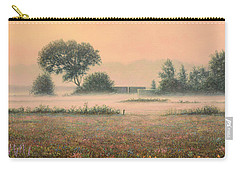 Misty Morning Carry-all Pouch by James W Johnson
