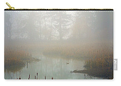 Carry-all Pouch featuring the photograph Misty Morning by Jordan Blackstone
