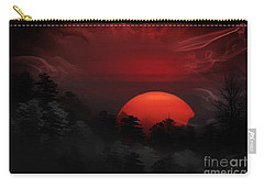 Misty Mountain Sunrise Carry-all Pouch