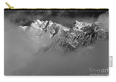 Misty Mountains In Mono Carry-all Pouch