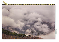Carry-all Pouch featuring the photograph Misty Mountains by Wallaroo Images