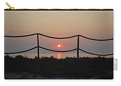 Misty Sunset 1 Carry-all Pouch by George Katechis