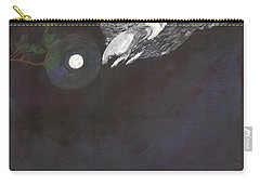 Carry-all Pouch featuring the painting Misty Twinight by Kim Pate