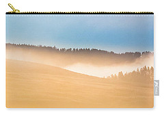 Misty Yellowstone   Carry-all Pouch by Lars Lentz
