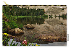 Mitchell Lake Reflections Carry-all Pouch