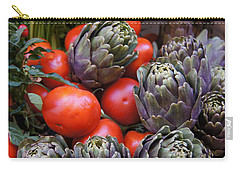 Articholes And Tomatoes Carry-all Pouch