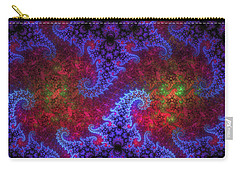 Carry-all Pouch featuring the digital art Mobius Unleashed by GJ Blackman