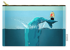 Moby Dick Carry-all Pouch by Mark Ashkenazi