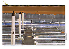 Carry-all Pouch featuring the photograph Mocha Dock 2 by Richard Ricci