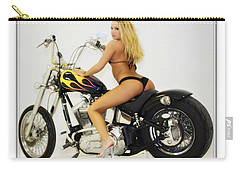 Models And Motorcycles_k Carry-all Pouch